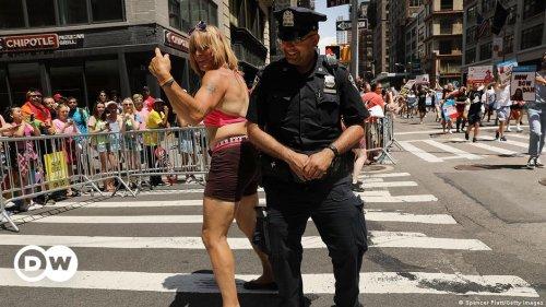 New York Pride police ban denounced as 'shameful'