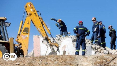 Schweres Erdbeben erschüttert Kreta