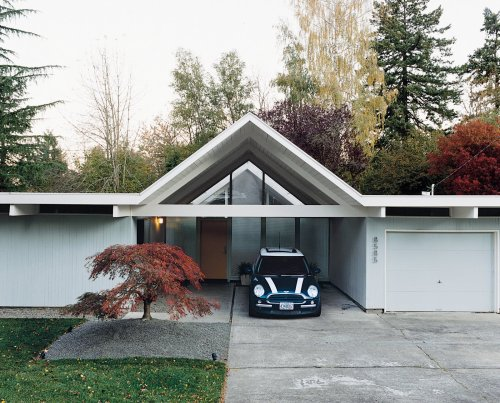 Articles about complete modern renovation midcentury home washington on Dwell.com
