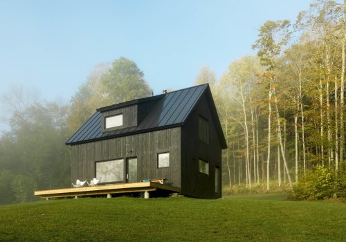 15 Black Cabins That Make the Case for Dark Exteriors