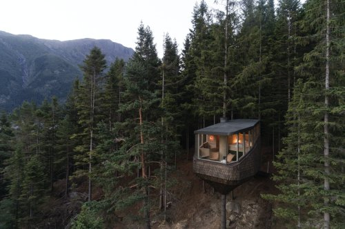 Woodnest Treehouses by Helen & Hard Architects