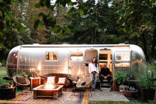 Cortes the Airstream by Markie Miller and Ironwood Furniture Co.