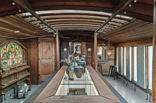 Shel Silverstein's Former Houseboat Built on a WWII Military Barge Wants $783K
