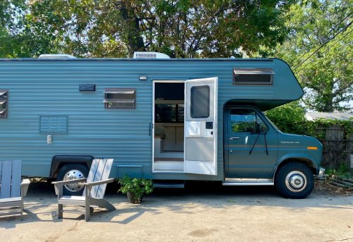 Jayco Motor Home Renovation by Taylor Manuilow and Mike Haley