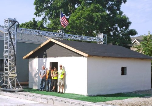 3D-Printed Home by S-Squared 3D Printers Inc
