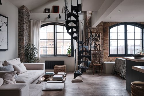 A Loft-Like Flat in a Converted London Warehouse Lists for $1.1M