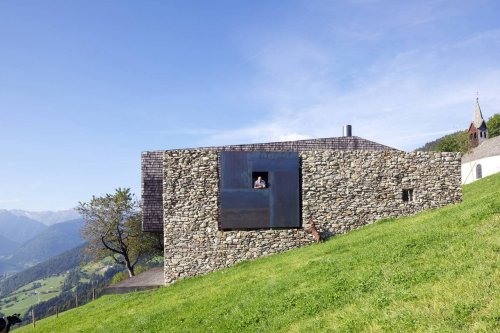 Rising From the Ruins: Homes Built on Architectural Remains