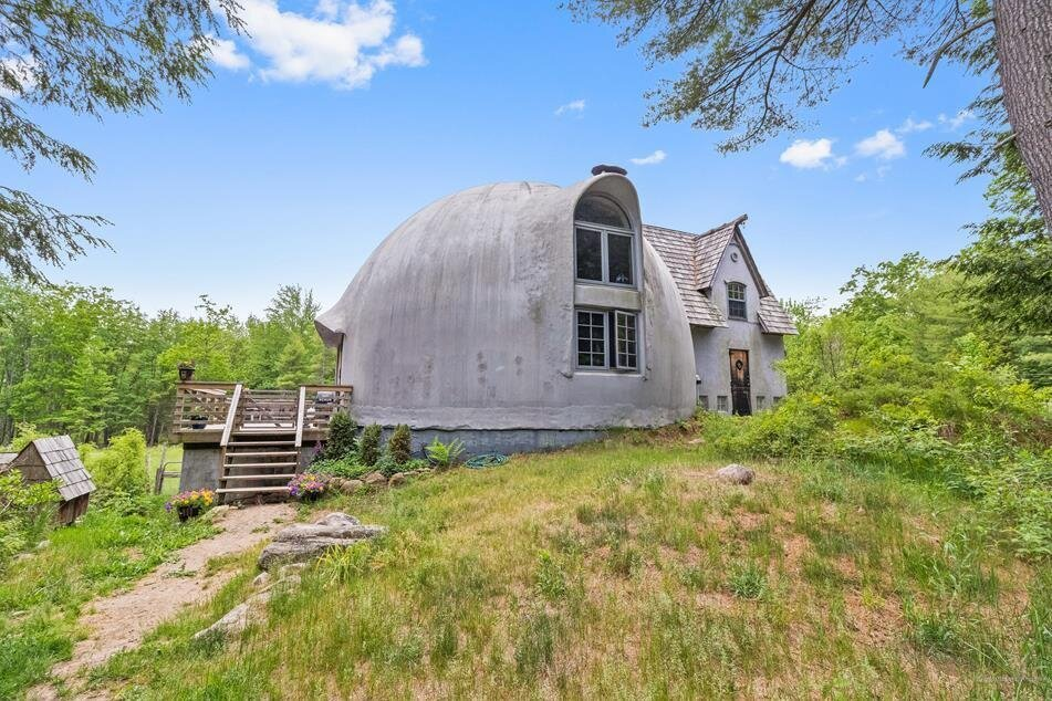An Artist Lists Her One-of-a-Kind Dome Home in Maine for $690K