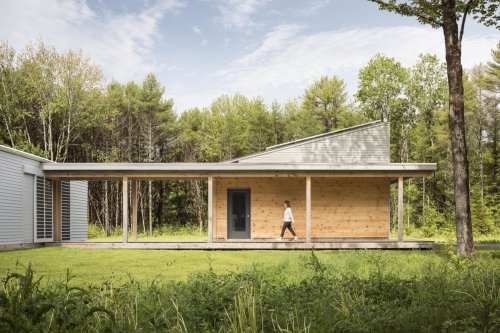 Articles about house week nearly net zero prefab installed 29 hours on Dwell.com