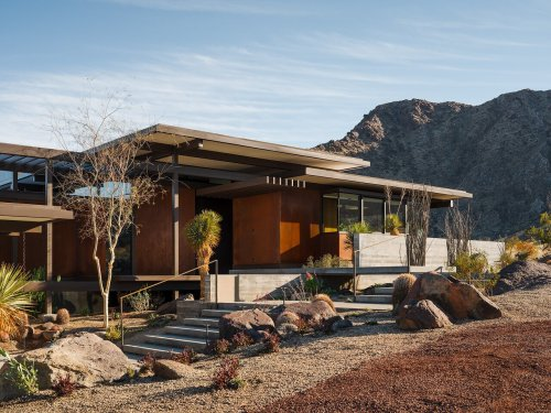 Desert Palisades Home by Ray Kappe