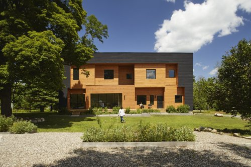 An Architect Builds a Two-Family Home to Foster Young Farmers in the Hudson Valley