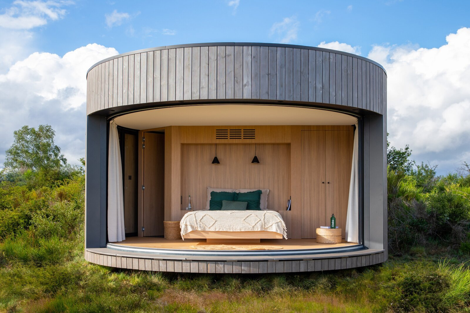 You Can Stay in a LumiPod Surrounded by 80 Volcanoes in France
