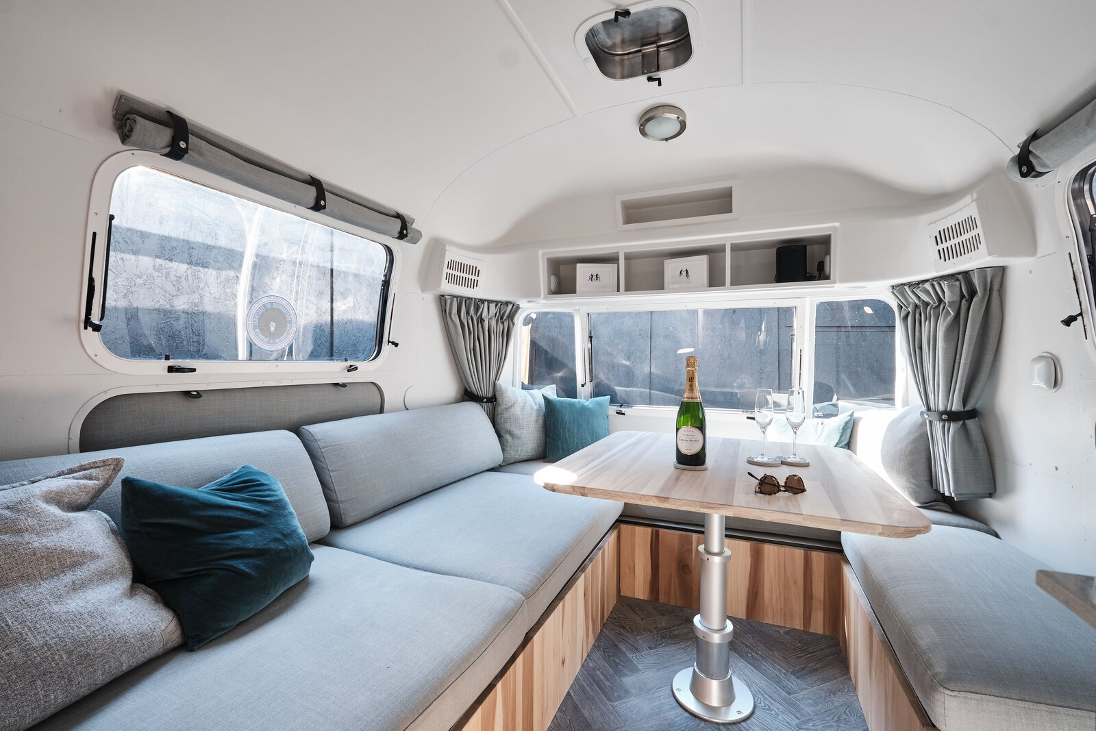 Scoop Up This Revamped 1974 Airstream for $235K in London
