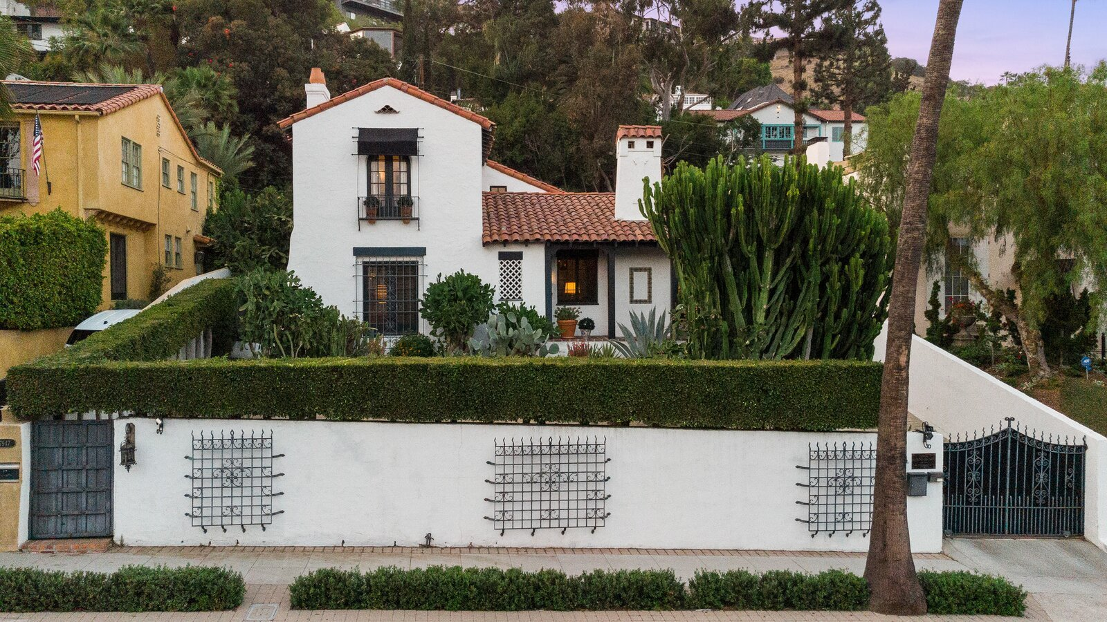A Cozy Spanish-Style on Hollywood Boulevard Seeks $2.8M