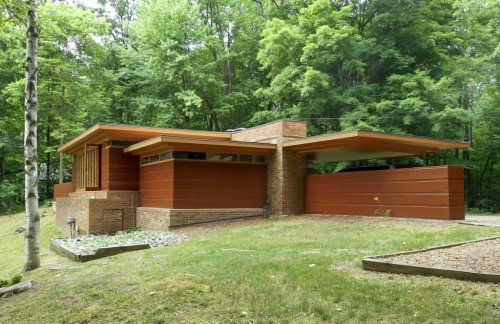 The Goetsch-Winckler House by Frank Lloyd Wright
