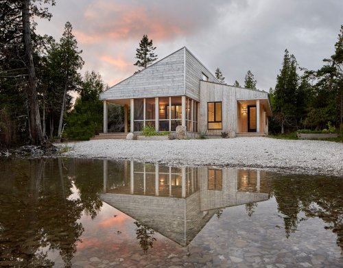 Photo 1 of 15 in This Artist Couple's Off-Grid Dream Home Was a…