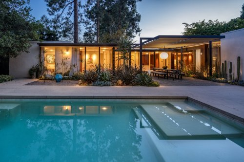 A Showstopping Midcentury Home Seeks a New Buyer in Beverly Hills