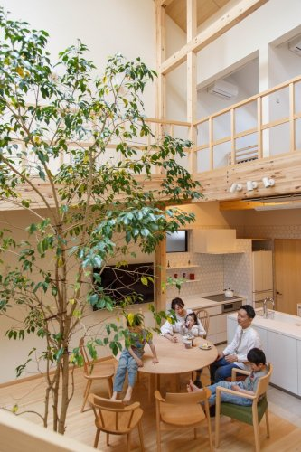 House in Kyoto by 07BEACH