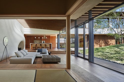 Lath House by Hiroshi Nakamura & NAP