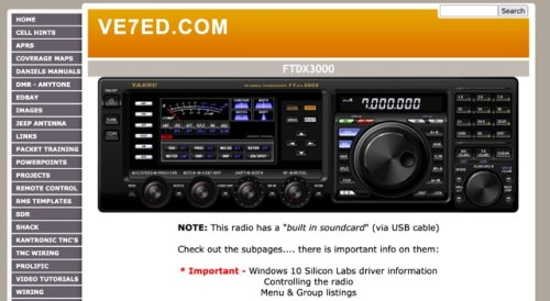 FTdx3000 Information pages
