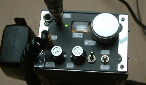 Portable SSB transceiver for 14MHz