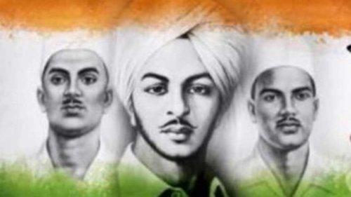आज ही के दिन भगत सिंह,राजगुरु एवं सुखदेव को एक जेल में फांसी दी गयी थी..
