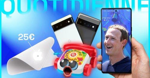 Les annonces Google, Starlink, un téléphone Fisher-Price...La Quotidienne des Nums [20/10/2021]