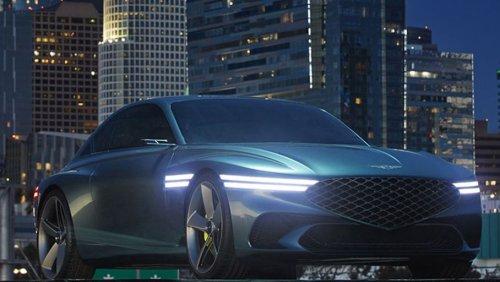 Genesis X Concept ou le retour du coupé électrique
