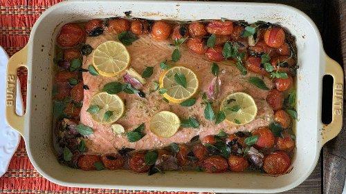 Saumon aux tomates cerises confites et au citron - Page 2 sur 2