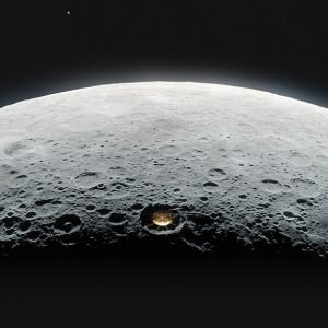 At long last, a radio telescope on the moon's far side   EarthSky.org