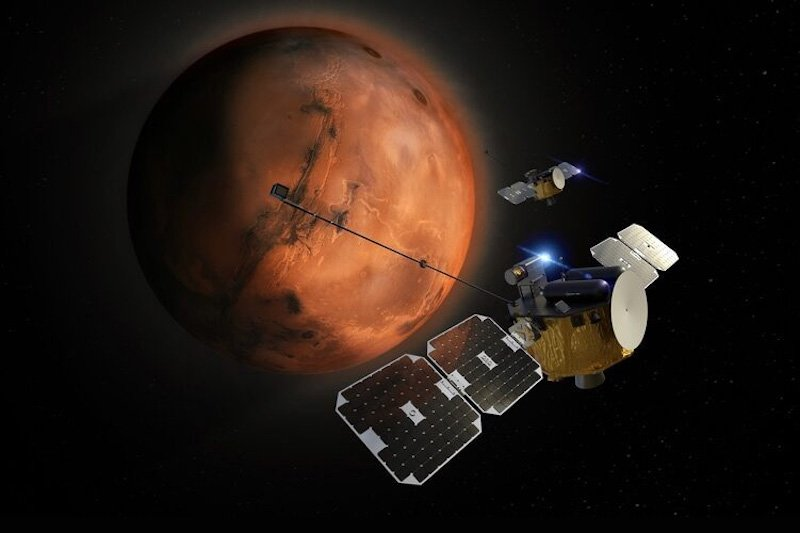EarthSky | Blue and Gold orbiters bound for Mars in 2024