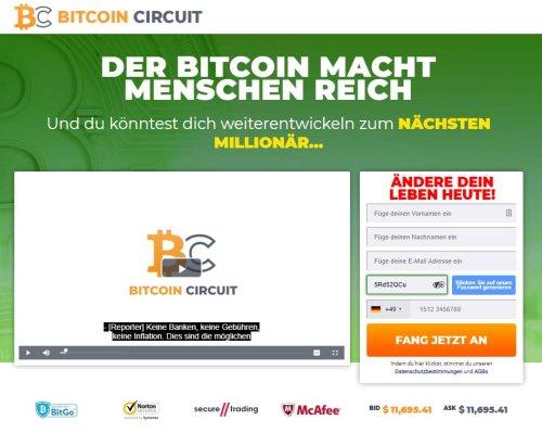 Bitcoin Circuit Erfahrungen 2021 - Test liefert erstaunliches Ergebnis!