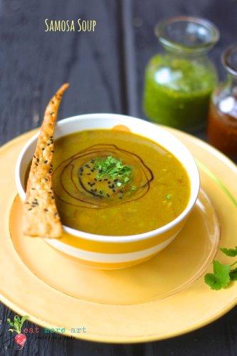 Samosa Soup | Eat More Art