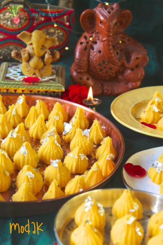Kesar Peda Modak | Happy Ganesh Chaturthi | Eat More Art