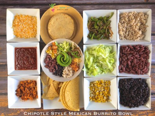 Chipotle Style Mexican Burrito Bowl