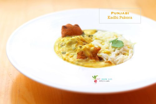 Authentic Punjabi Kadhi Pakora | Eat More Art