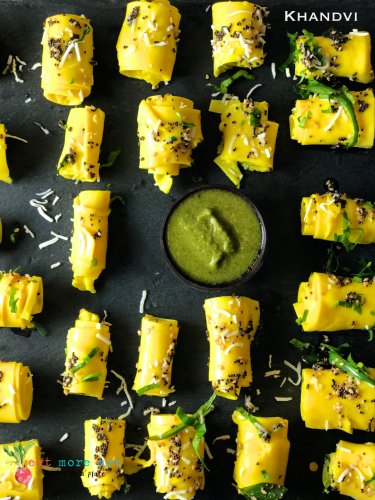 Khandvi | Eat More Art