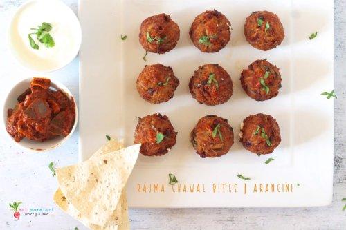Rajma Chawal Bites | Arancini