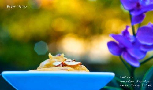 Besan Halwa | Eat More Art