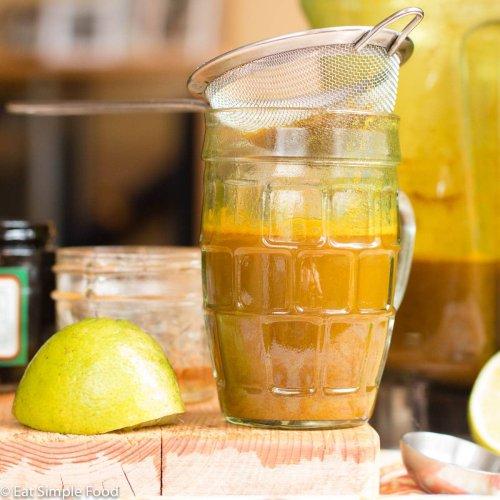 Indonesian (Bali) Jamu Juice Drink Recipe - Eat Simple Food