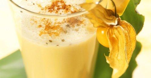 Bananen-Smoothie mit Pomelo