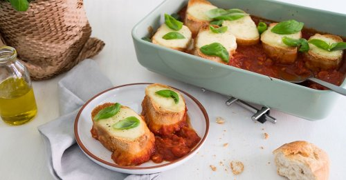 Tomate-Mozzarella aus dem Ofen – himmlisch!