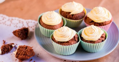 Ostern kann kommen: Eierlikör-Cupcakes