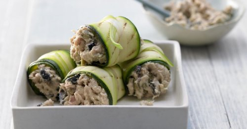 Thunfisch-Zucchini-Röllchen