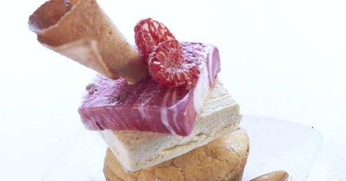 Muffin-Eis-Dessert