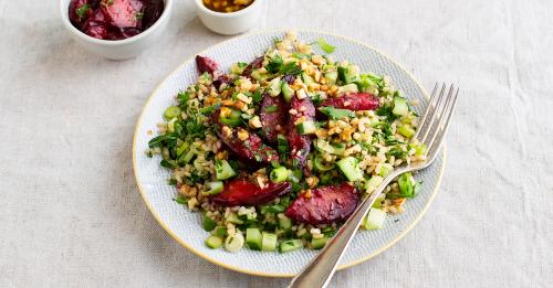 Kräuter-Reis-Salat