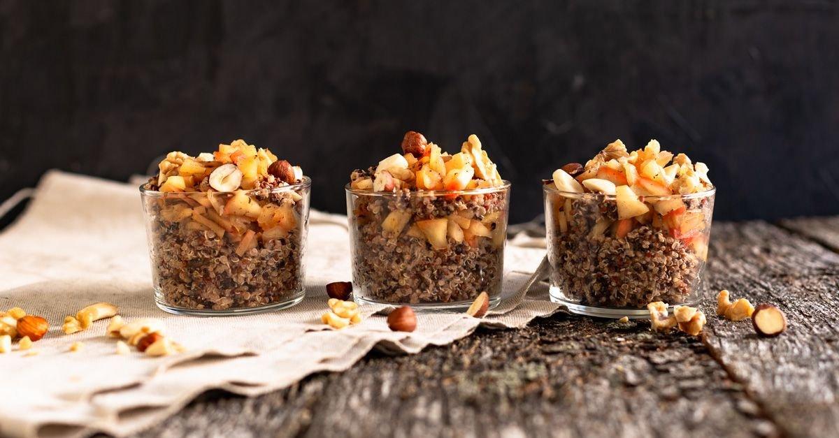 Apfel-Zimt-Quinoa
