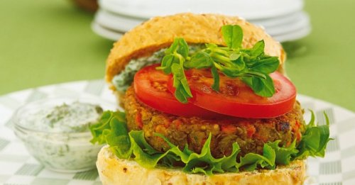 Linsen-Burger