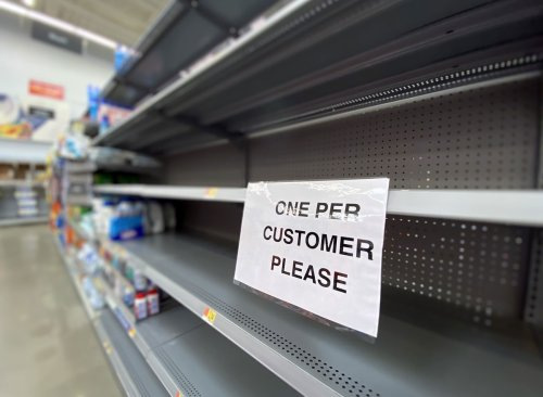 These Items Are Flying Off Grocery Shelves as COVID-19 Cases Rise Again | Eat This Not That