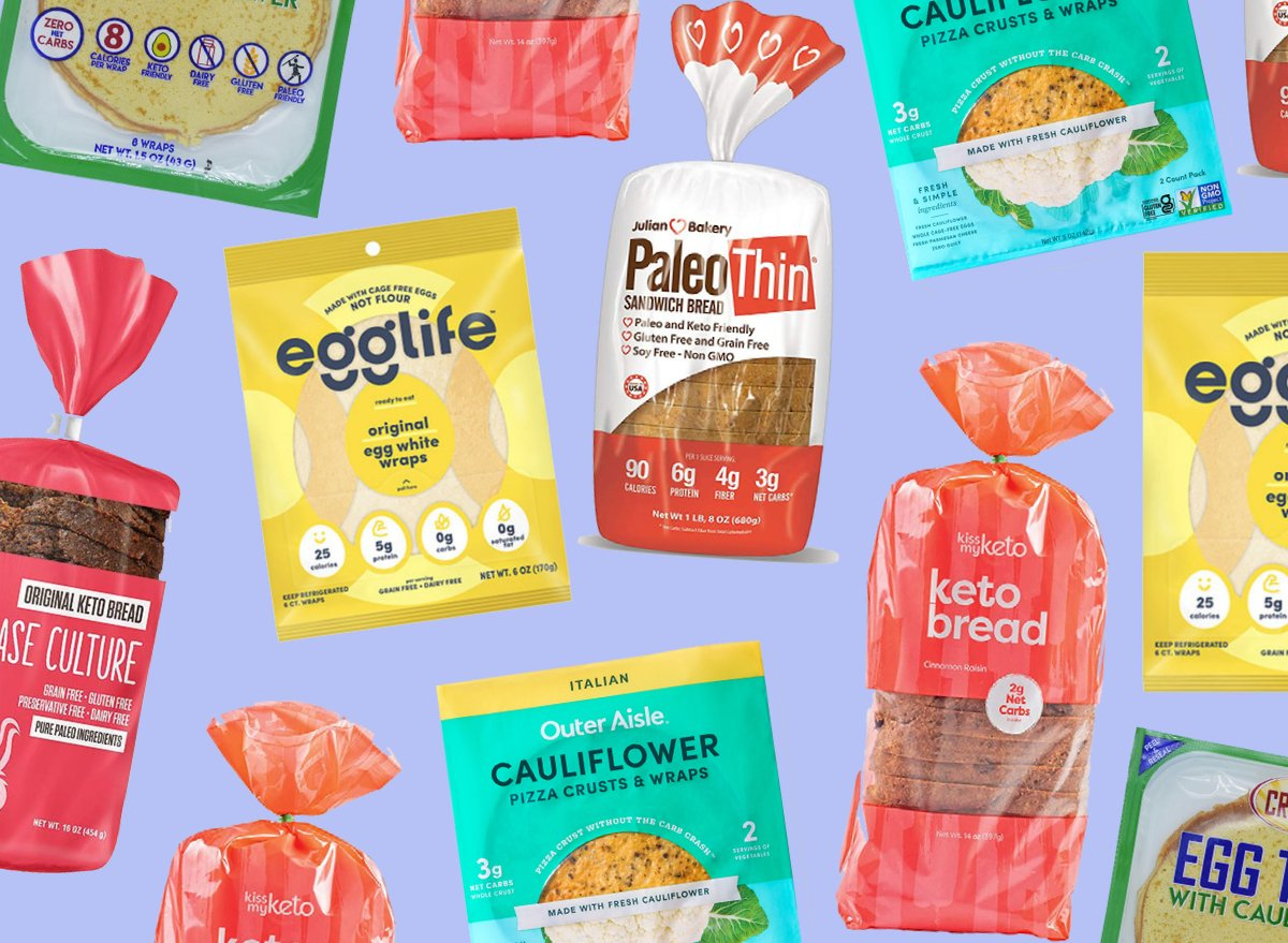 10 Best Low-Carb Breads on Grocery Store Shelves